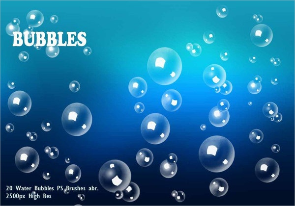 Water Bubbles Brush