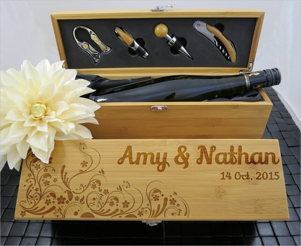 Personalized Wine Box Template