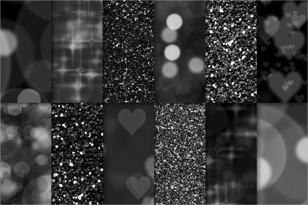 dark glitter texture