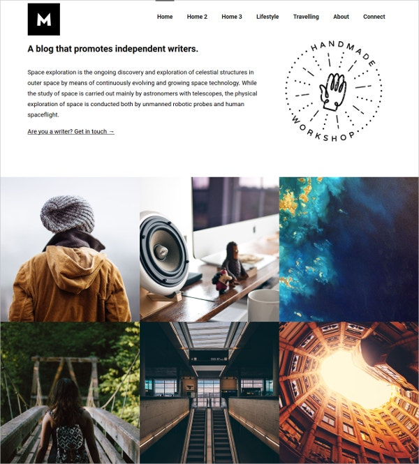 Photography Blogging Theme for WordPress $44