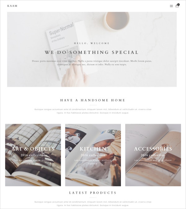 Creative Designer Architecture Blog WP Theme $59