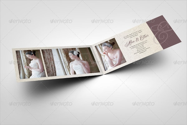 18  folded invitation templates