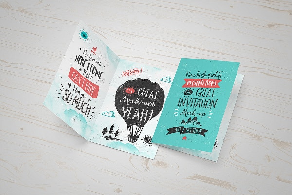 Great Invitation Card Template