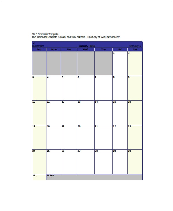 Appointment Calendar Template 7 Free Word Excel Pdf Documents