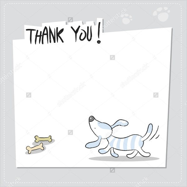11 funny thank you cards free eps psd format download free