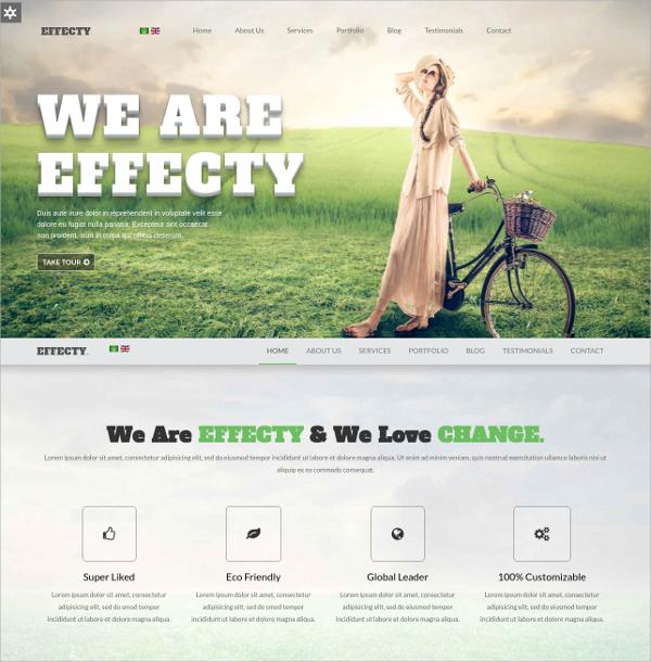 Responsive One Page Joomla Website Theme $43
