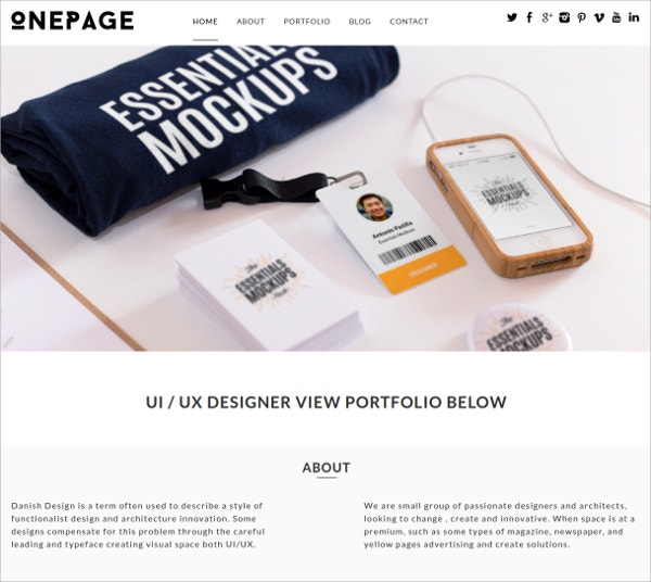 Premium Responsive Single Page Website Theme