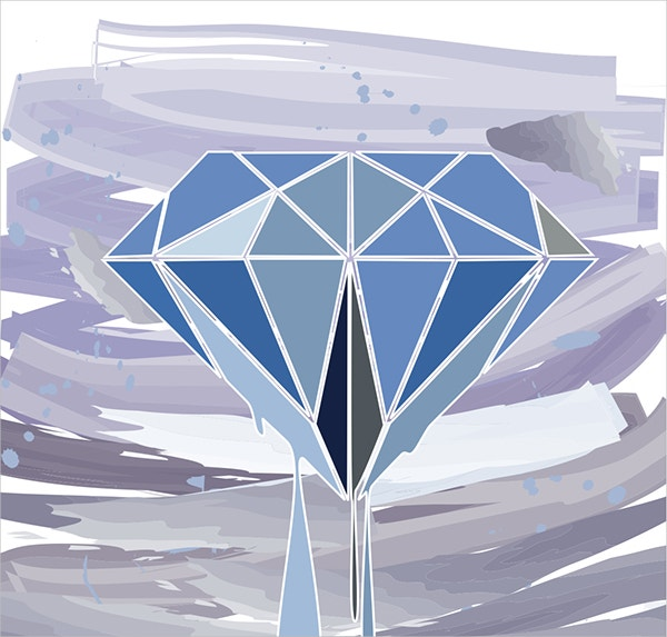 Graphic Diamond Vector