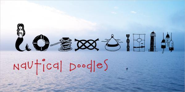 Nautical Doodle Font