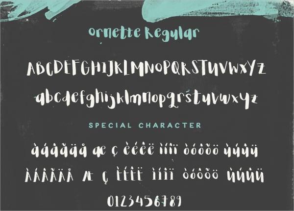 Ornette Doodle Font