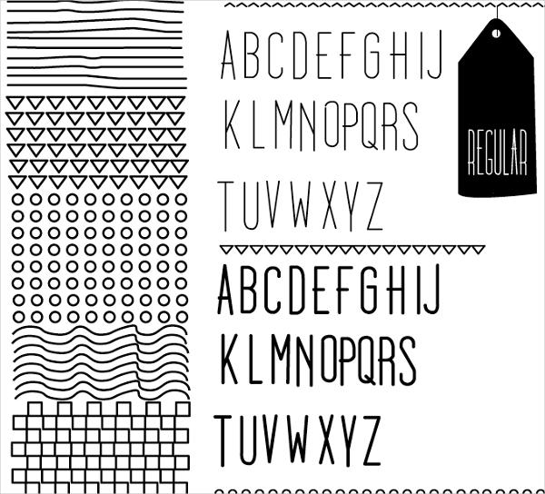 Dooodleista Type Doodle Font