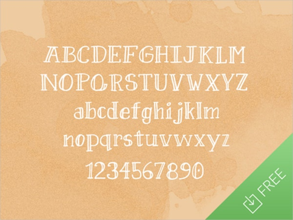 pineapple free doodle font