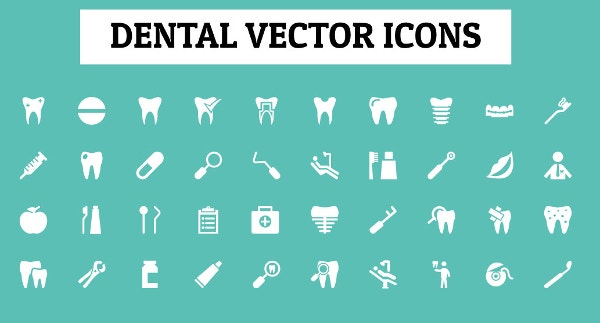 Dental Health Icons
