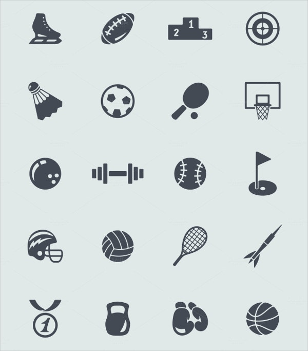 Health Sport Icons
