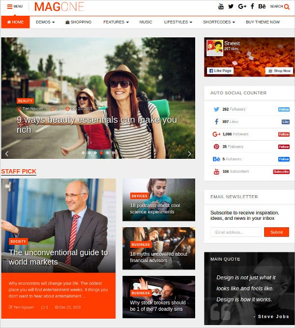 modern magazine news wordpress theme 49