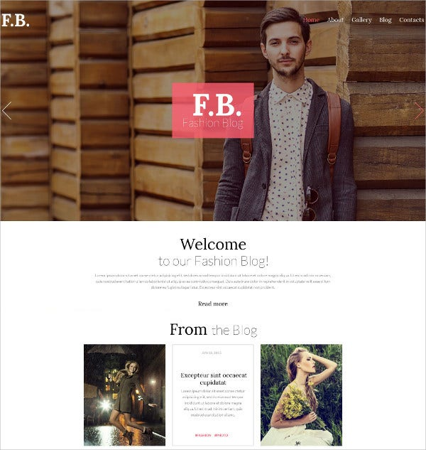fashion news wordpress theme 75