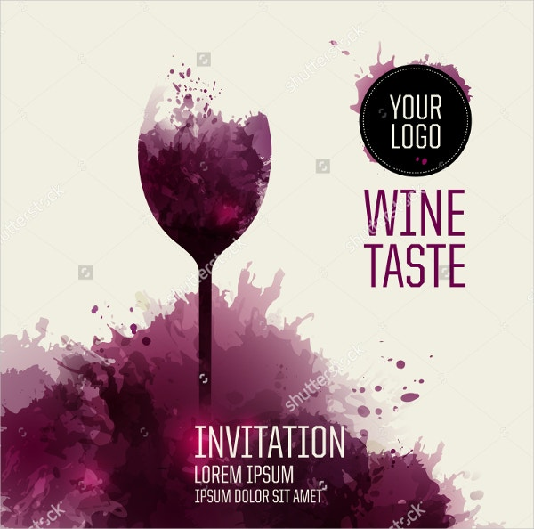 Official Beverage Invitation Template
