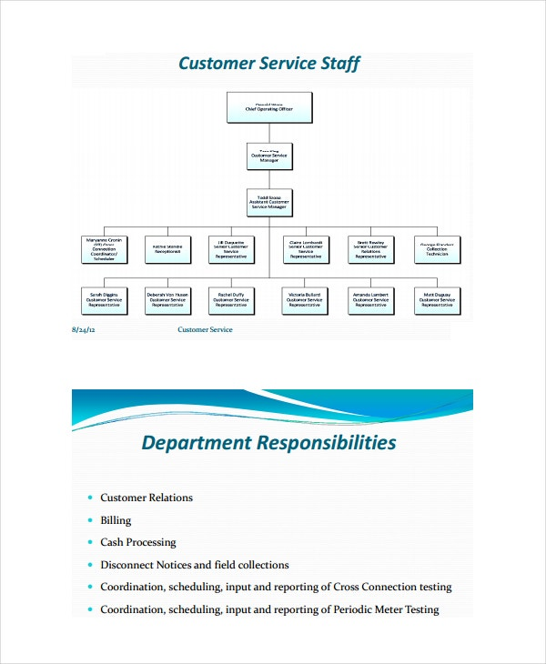 customer service analysis template