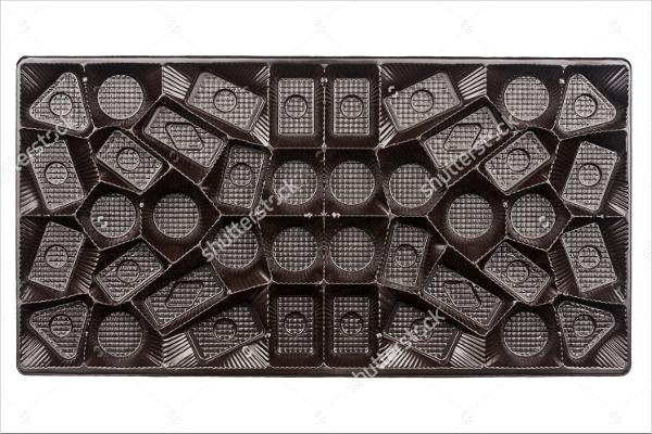 Empty Chocolate Box Template