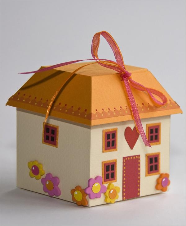 Cottage Chocolate Box Template