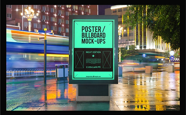 10 Urban Billboard MockUps