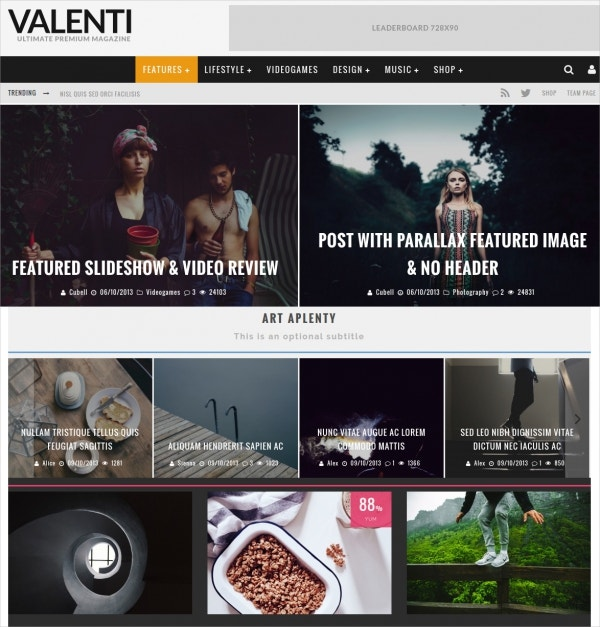 50 Magazine Wordpress Themes Templates Free Premium Templates