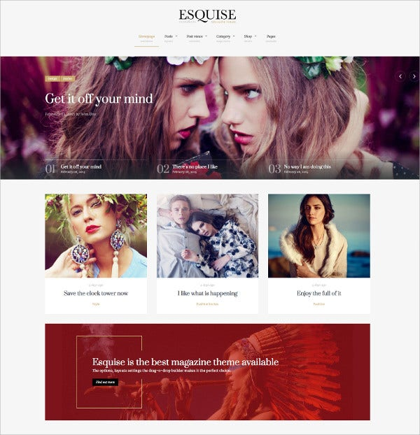 Best Magazine WordPress Theme $59