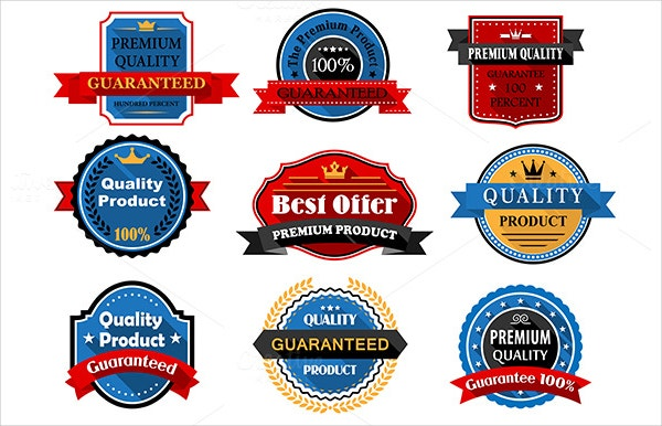 quality guarantee flat labels