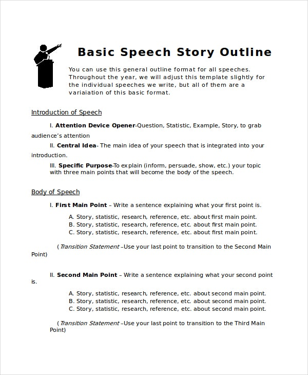 Story Outline Template - 6+ Free Word, PDF Document Download ...