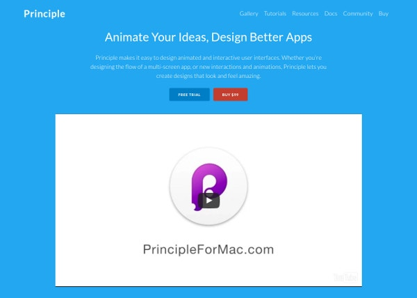 Principle for Complex App Animations