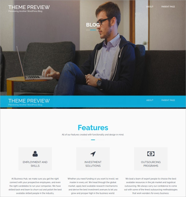 free business wordpress theme1