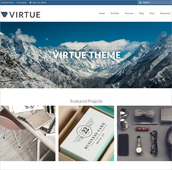 Free Modern WordPress Theme