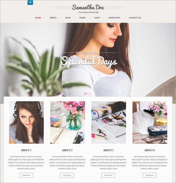 Free WordPress Theme for Women