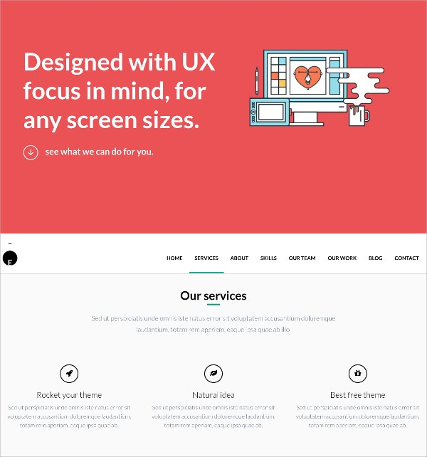 Simplicity Free WordPress Theme