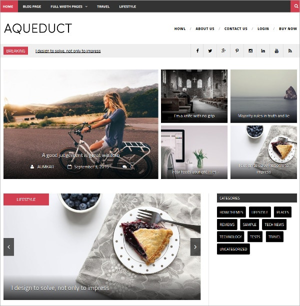 free responsive design wordpress theme