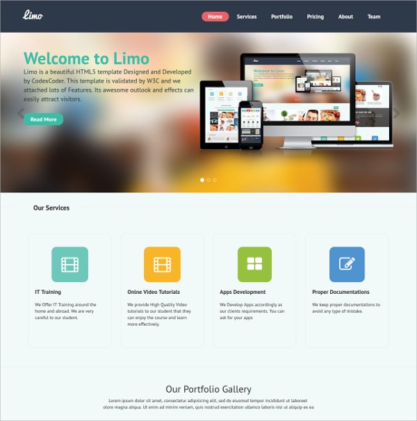 business corporate free wordpress theme