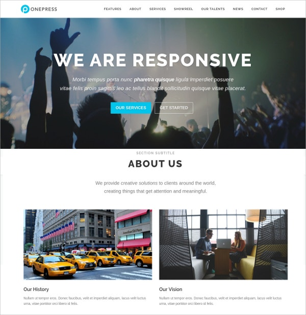 free digital agency wordpress theme