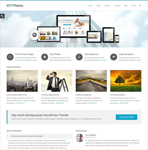 Free Business Consulting WordPress Theme