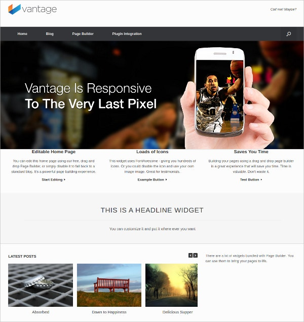 multipurpose best free business wordpress theme