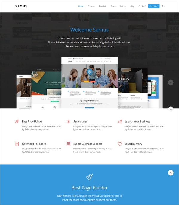free agency business wordpress theme