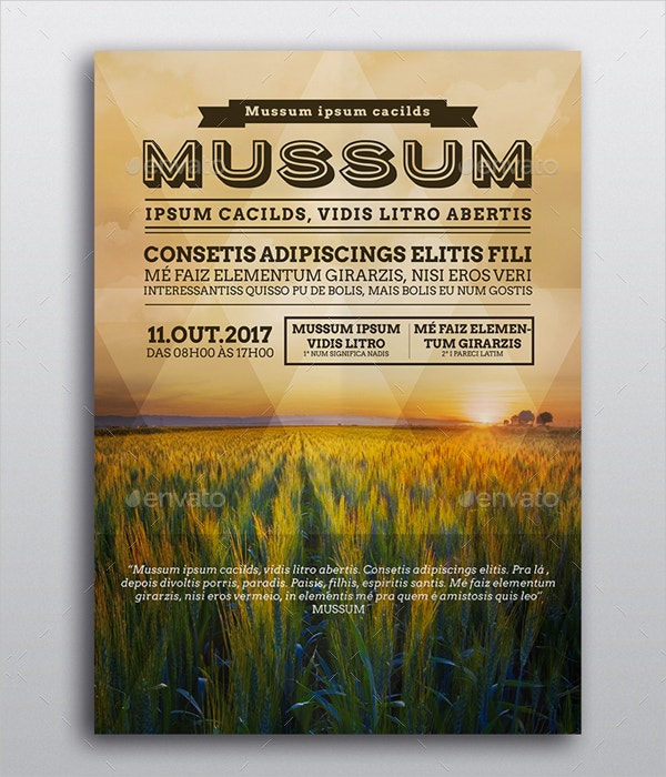 event poster design templates
