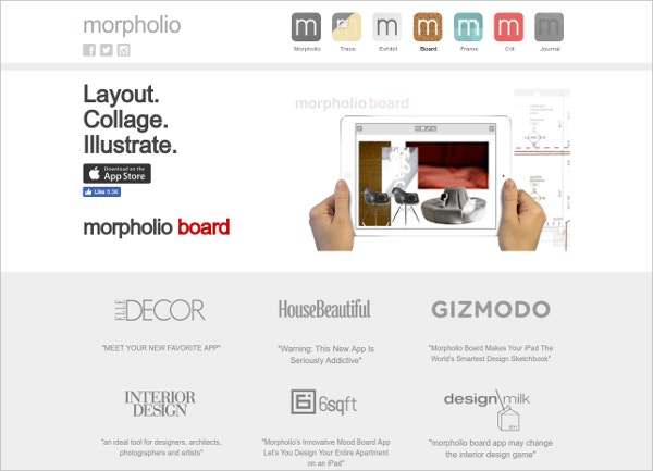 Morpholio Board - Mood Board App