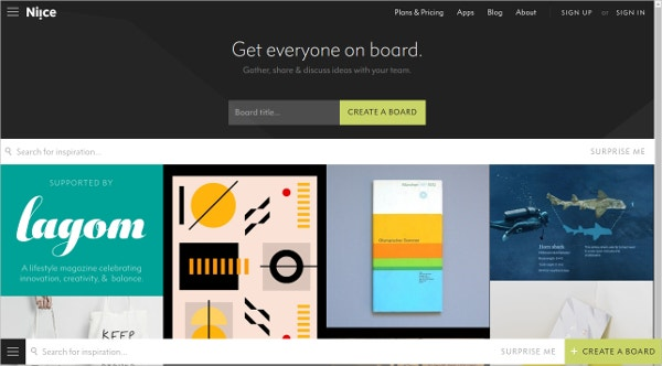 Niice.co – Design Mood Board