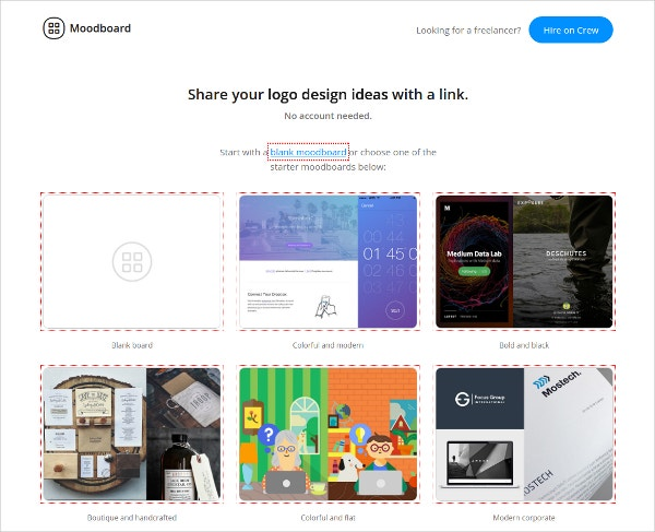 quickly build beautiful go moodboard