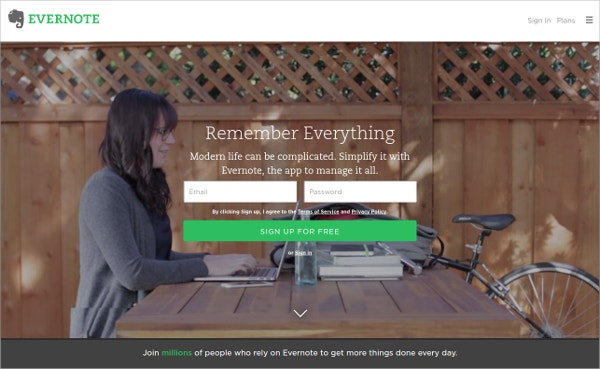 evernote app remember everything