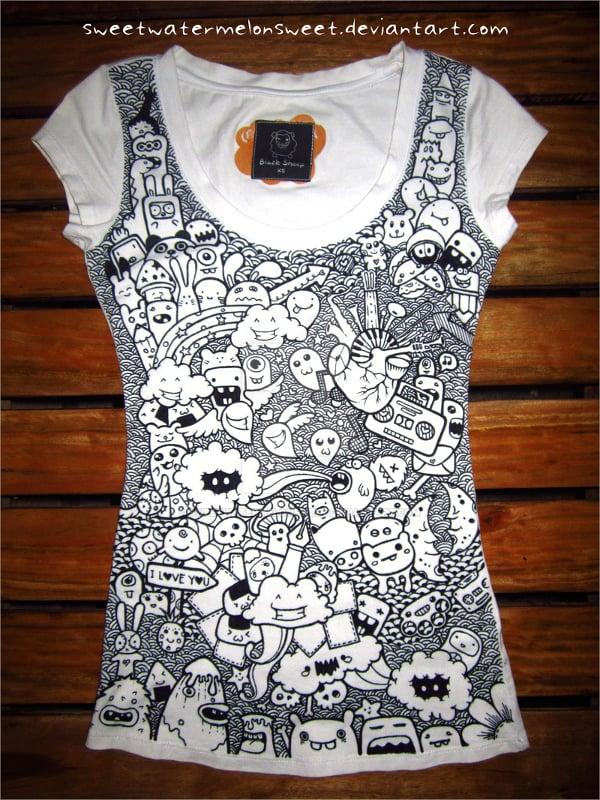 Doodle T-Shirt Art Design