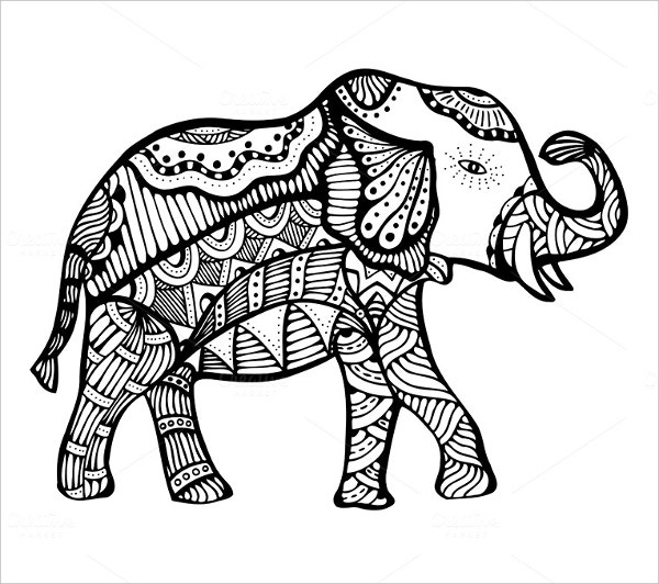 35 imaginative doodle art designs free premium templates hand drawn elephant doodle art pronofoot35fo Choice Image