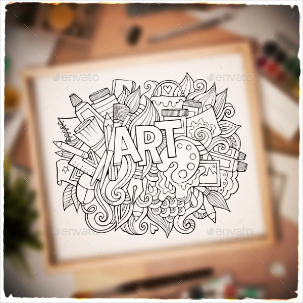 35+ Imaginative Doodle Art Designs | Free & Premium Templates