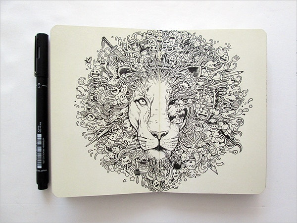 Moleskine Doodles Art Design