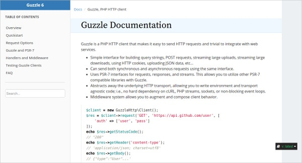 Guzzle PHP Tool